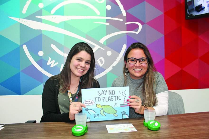 Jéssica e Viviane: aposta na sustentabilidade