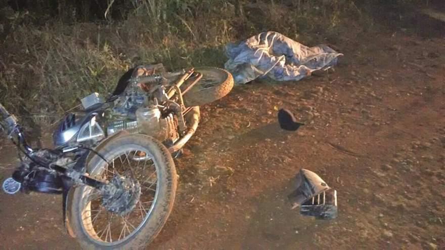 Bealcino da Silva Carlos morreu na hora após colidir contra moto de trilha em estrada no local conhecido como Botucaraizinho