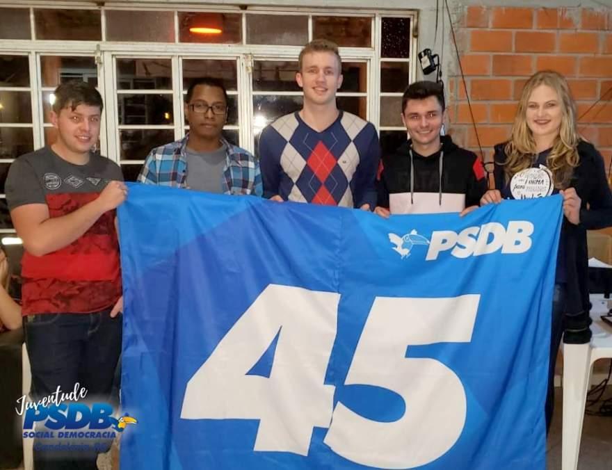 Os integrantes da Executiva do PSDB