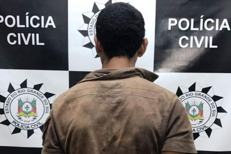 Suspeito de 31 anos foi encaminhado ao Presídio Estadual de Candelária