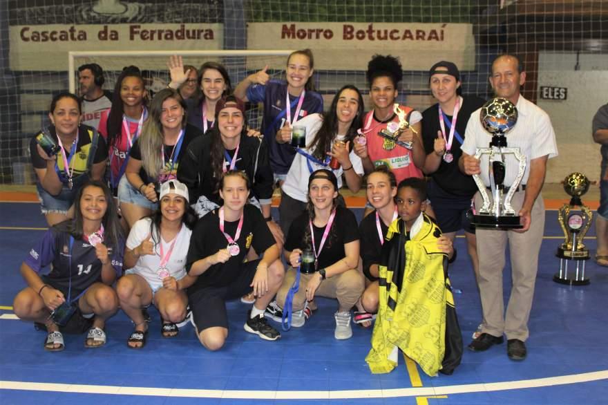 Verona, vice-campeão da categoria feminino