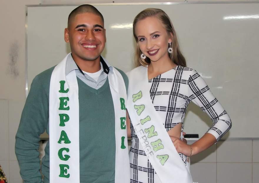 Claudir de Oliveira e Karen Trevisan