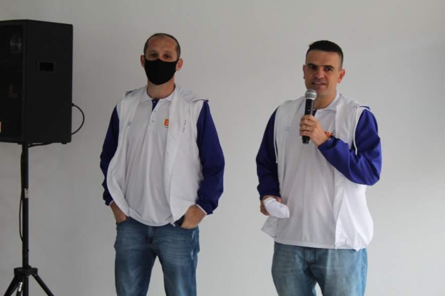 Os proprietários Jeferson Koehler e Douglas Braga