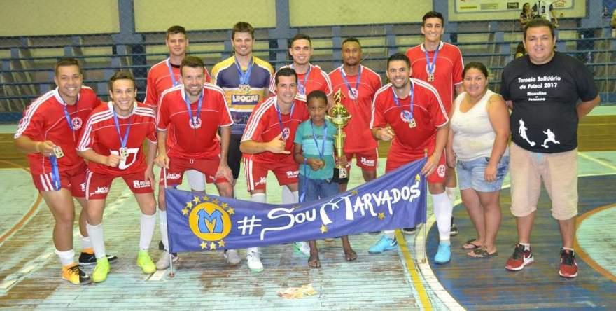 Marvados e Lyon são os campeões do torneio beneficente de futsal