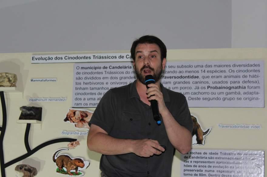 Paleontólogo argentino Agustin Martinelli