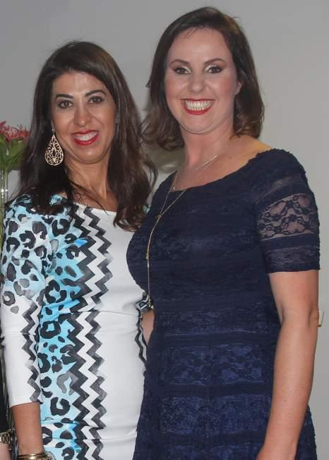Ivannia Moraes e Lenara Trevisan