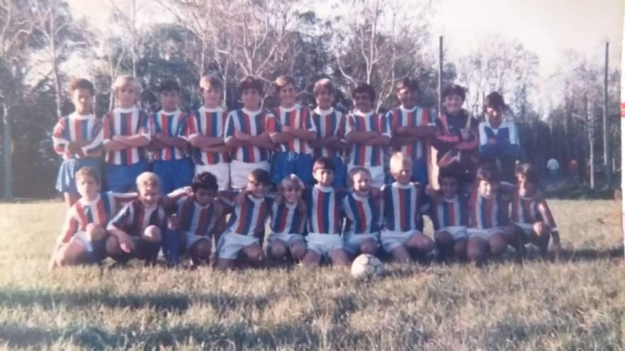 Uma das primeiras formações do Atlético em 1992 - Arquivo Rodolfo Feldmann