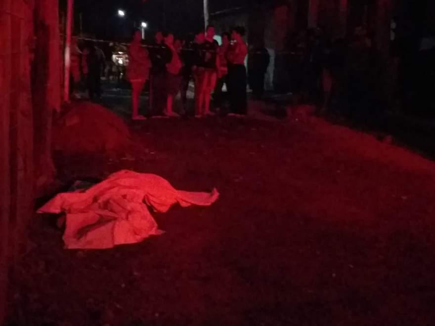 Quando a guarnição chegou ao local do crime, se deparou apenas com o corpo da vítima