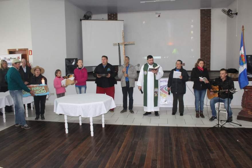 Celebração religiosa ocorreu na abertura do evento