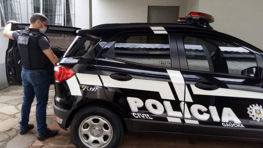 Suspeito foi conduzido ao Presídio Estadual de Candelária