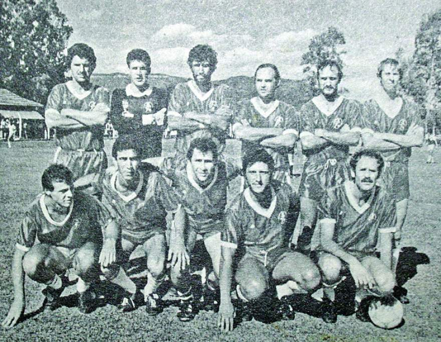 Minuano, campeão municipal em 1985