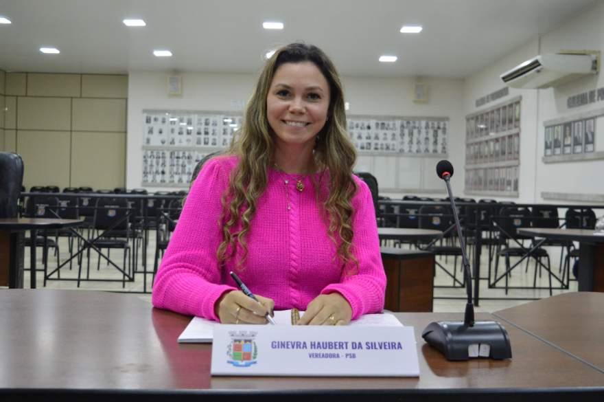 Vereadora Ginevra da Silveira