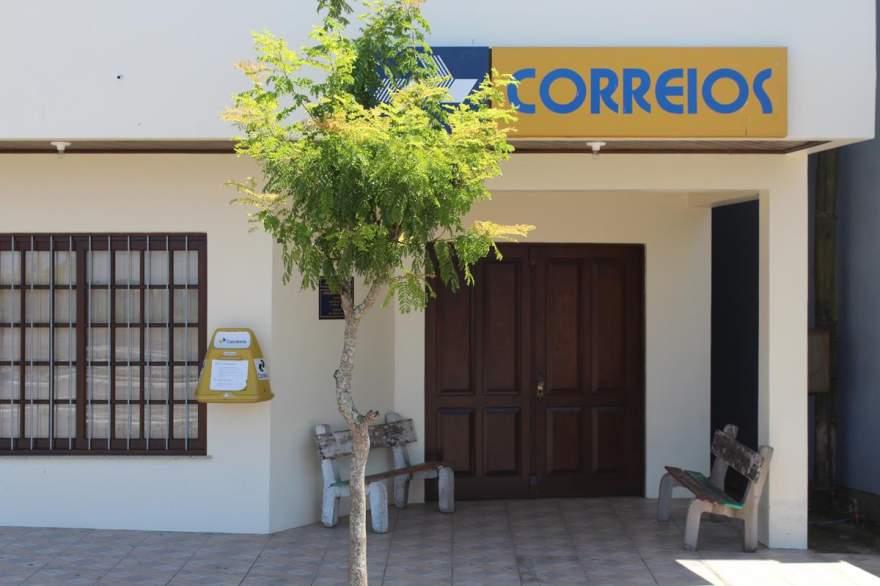 Agência fica localizada no centro de Novo Cabrais (Foto: Diego Foppa • Folha)