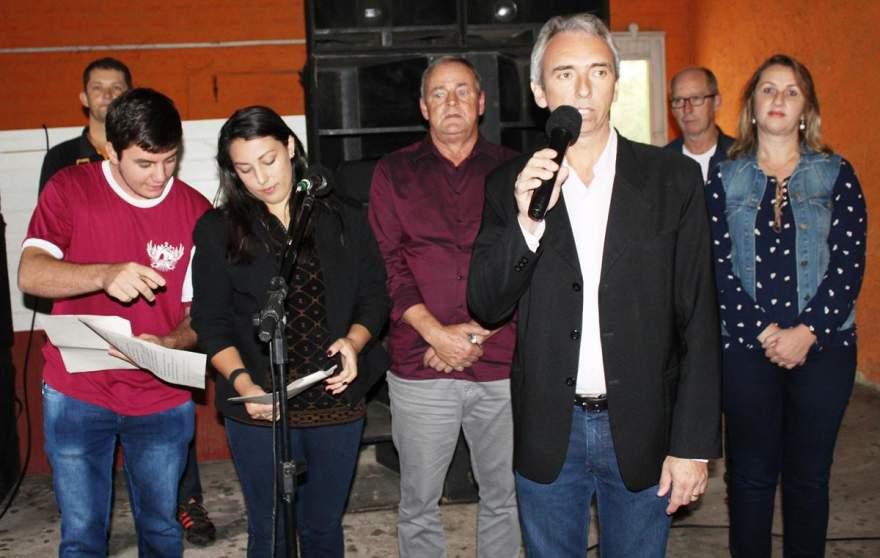 O prefeito Paulo Butzge valorizou a integração proporcionada pelo evento