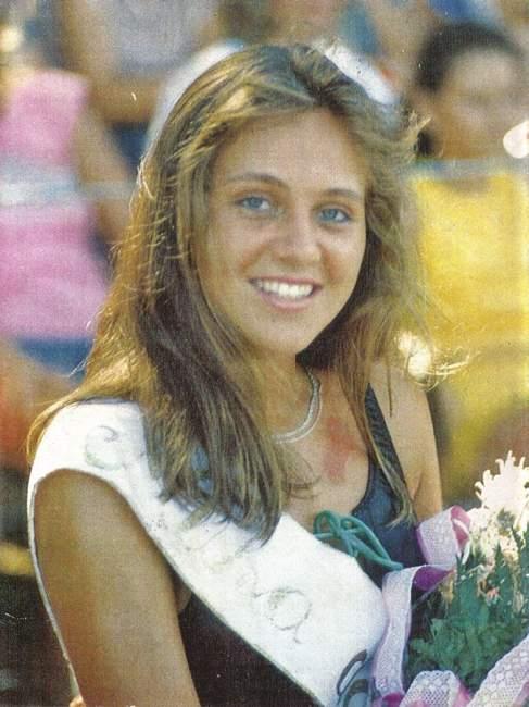 A primeira Musa, Flávia Röhrs, eleita em 1987