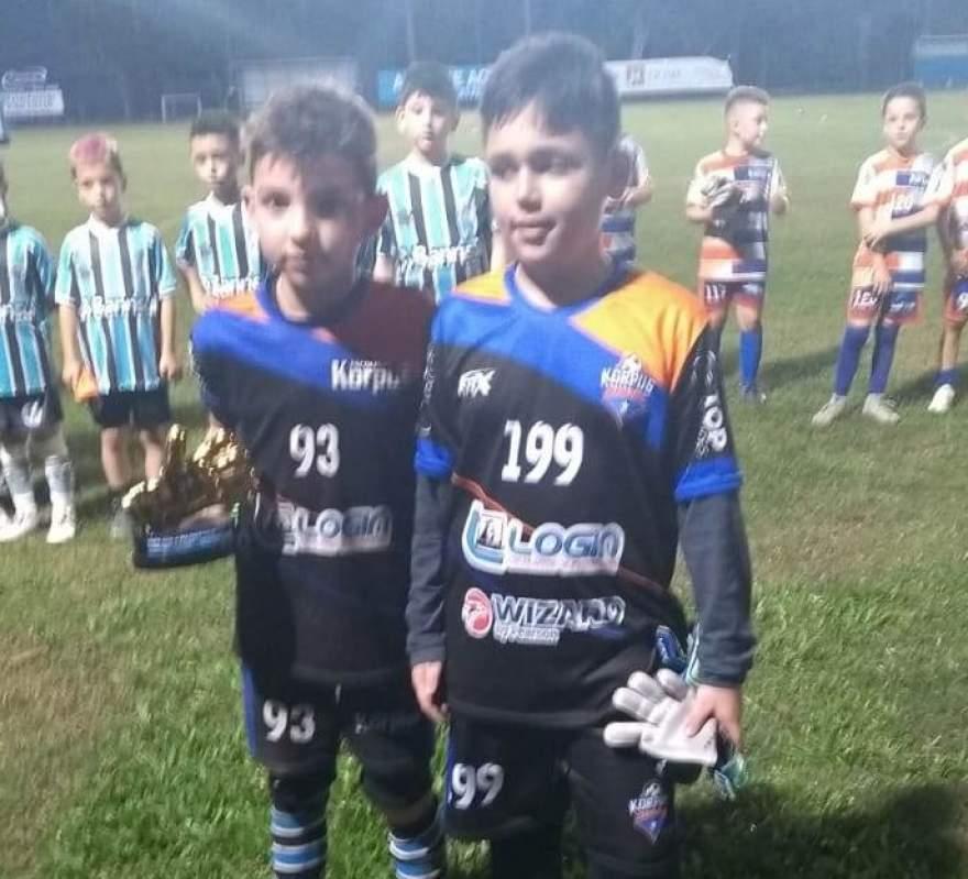 Kauã e Mário Gazin, goleiros menos vazados com três gols