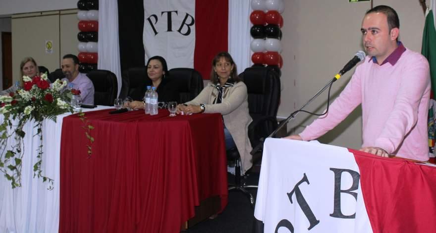 Jorge Willian Feistler valorizou o cumprimento de metas de crescimento do partido