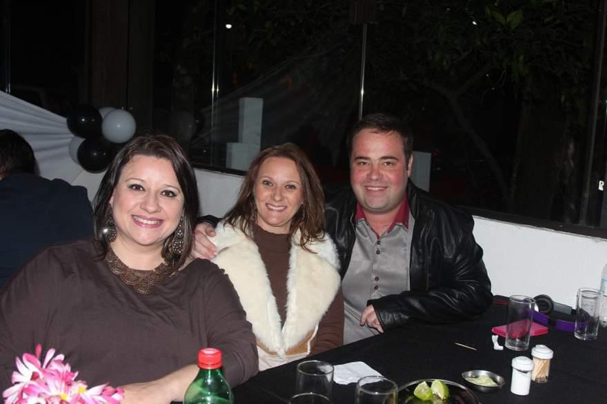 Patrícia Steffanello, Carine e Alan Wagner