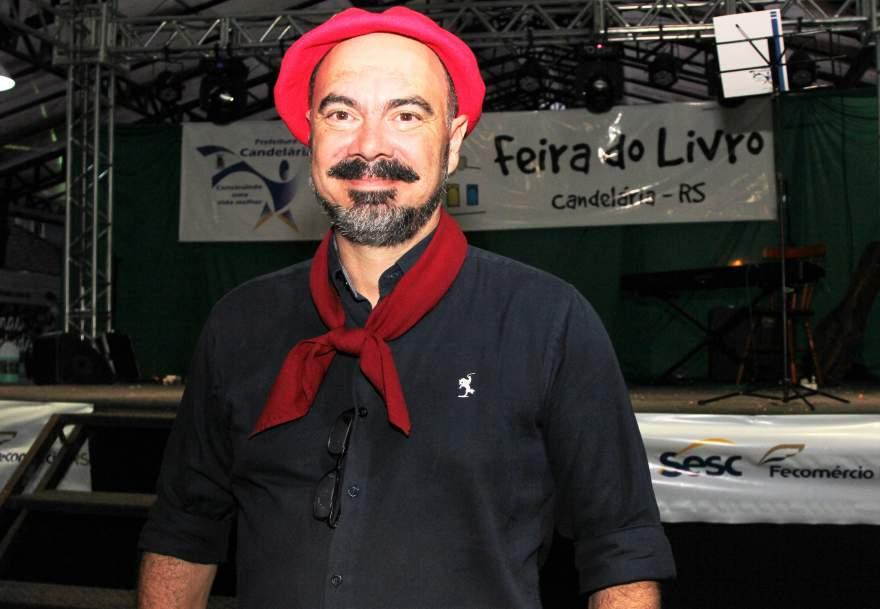 Gujo Teixeira, o patrono da 16ª Feira do Livro de Candelária