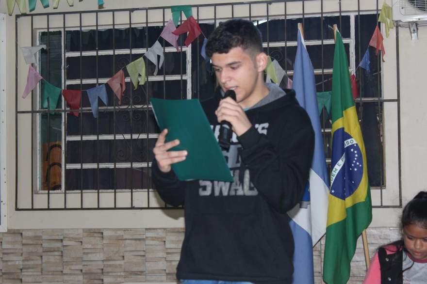 O candidato Kevin Moura de Morais