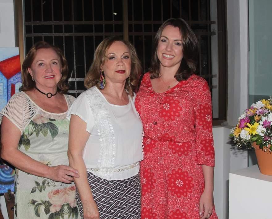 Iara Polhl, Ione Pohl e Melina Pohl da Silva