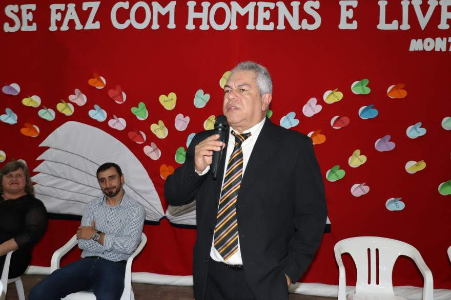 Secretário Valério Garcia agradeceu o carinho e a homenagem feita