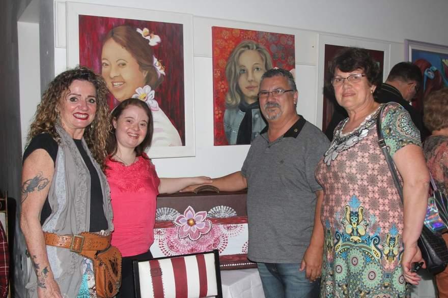 Ana freitas, Natália Crespo Moreira, Jorge Freitas e Ana Moreira