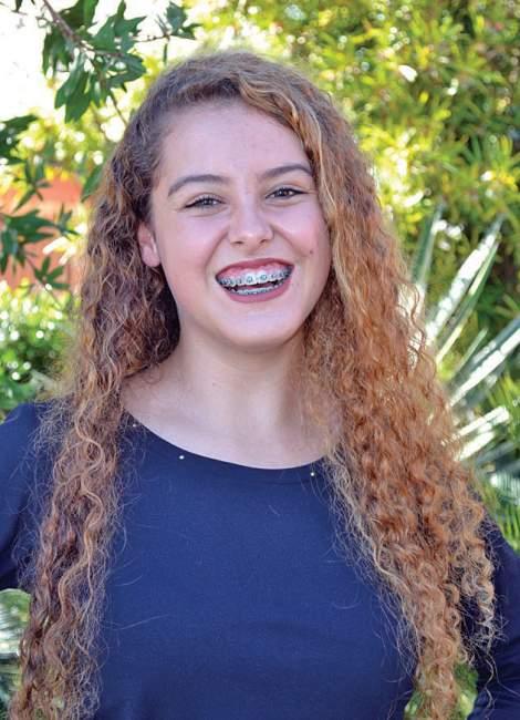 Érika Jaeger Machado, 17 anos