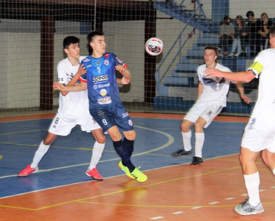Liga Gaúcha de Futsal: sub 17 de Atlético derrota o Garibaldi Futsal