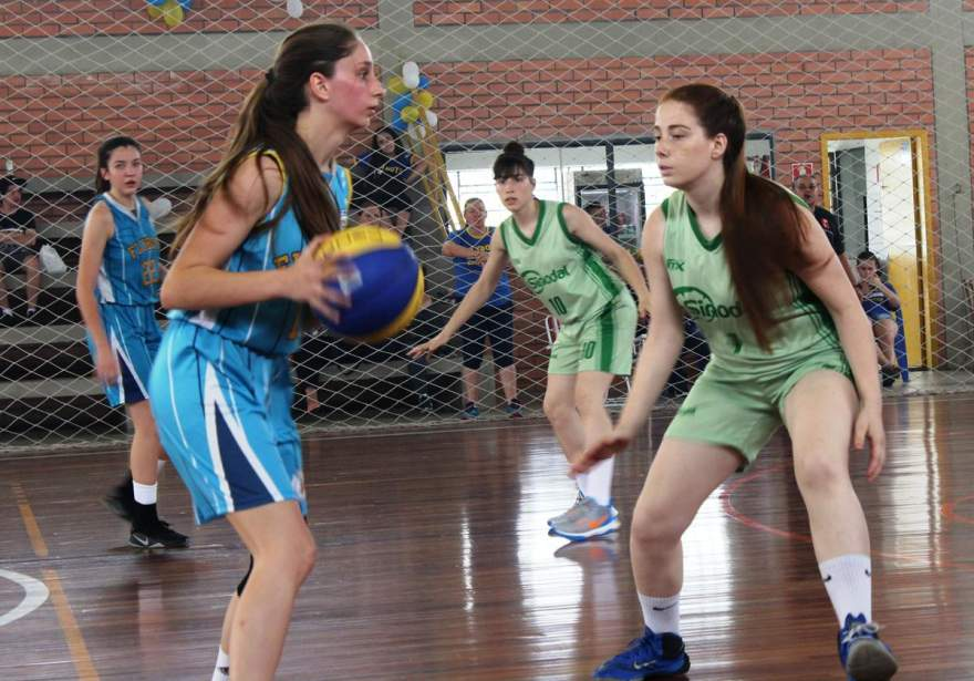 Equipe do Colégio Sinodal mostrou maior tranquilidade nos momentos decisivos