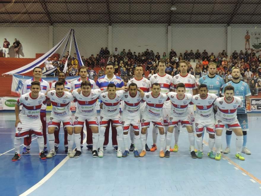 Equipe do Atlético em Marau
