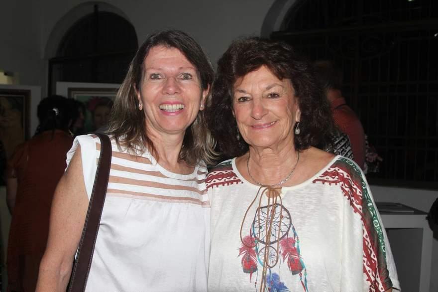 Maira Grehs e Claudete Klafke