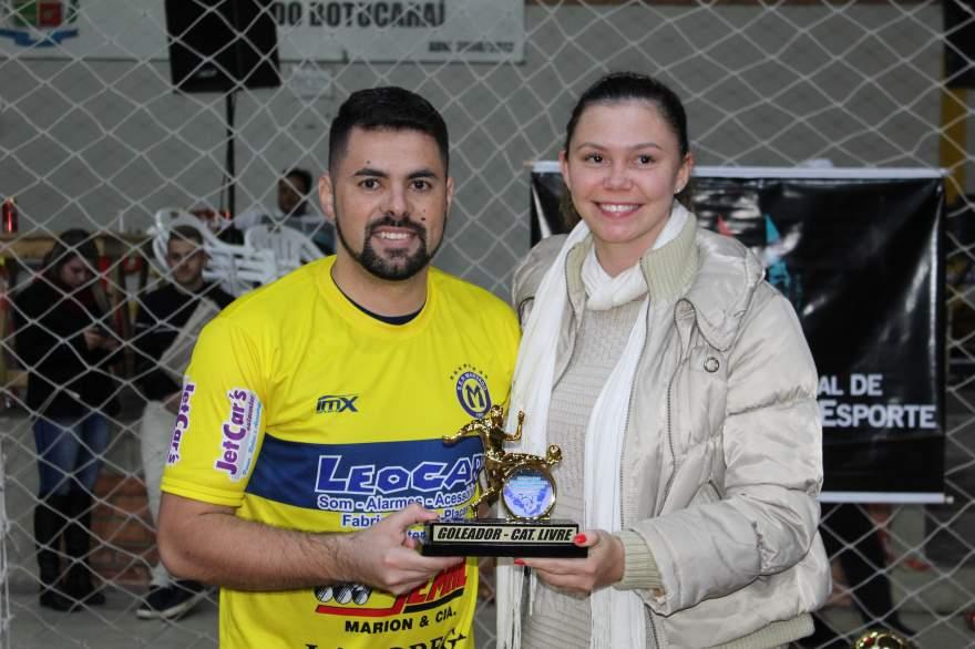 Rafa Souza, goleador da categoria livre