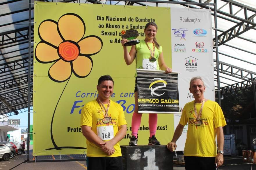 Premiação 25/29 anos feminino 8km