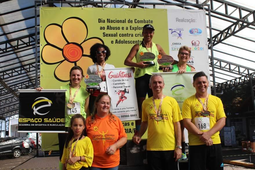 Premiação 45/49 anos feminino 4km
