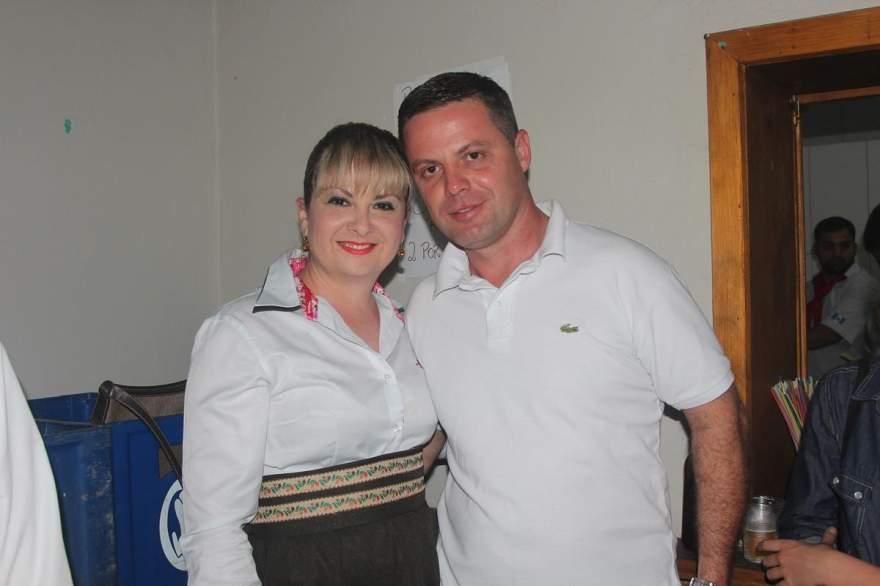 Priscila Bernardes e Cristiano Ellwanger