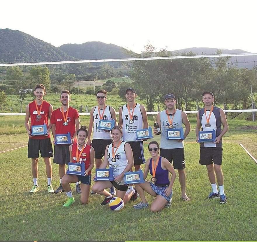 Em 2017, o torneio foi vencido por Cerro Branco, com Vale do Sol em segundo e Sobradinho em terceiro lugar - Foto: Divulgação