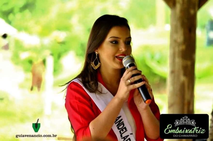 Letícia Flores Steil, irá representar Candelária no concurso