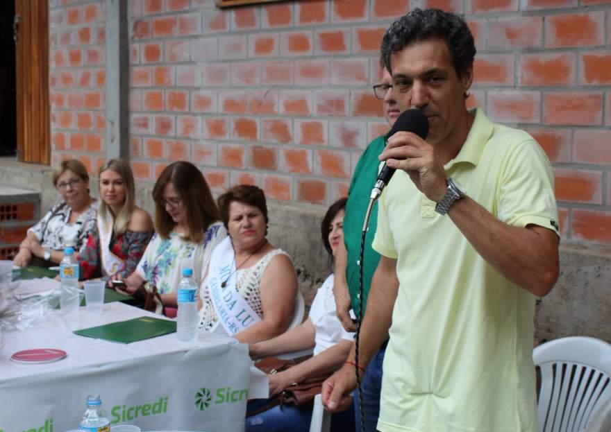 O proprietário do Balneário Sol Nascente, Vanderlei Steinhaus