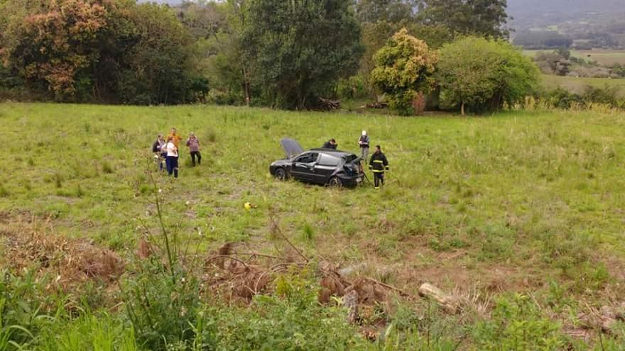 Motorista foi socorrido e recebe atendimento no Hospital Candelária