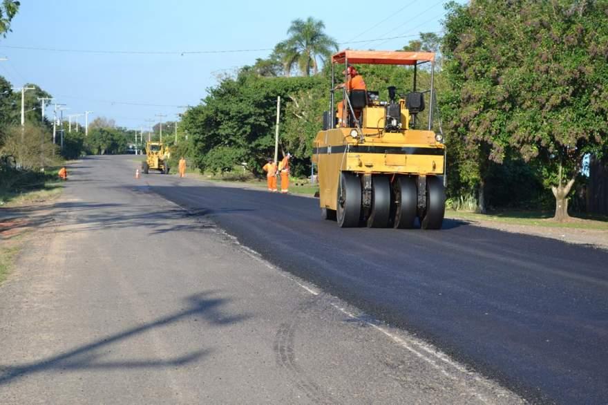 Serviços de pavimentação iniciados na quarta, 17, devem se estender aos 8,4 km do trecho asfaltado