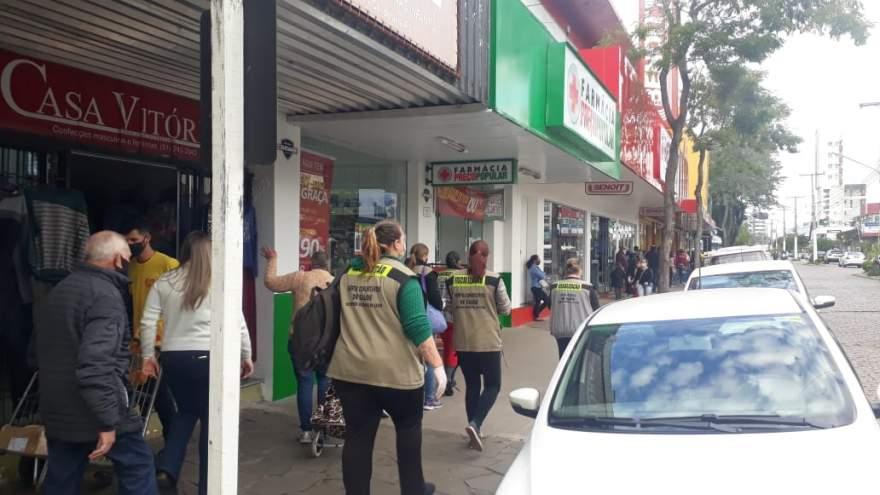 Prevenção ao coronavírus: Prefeitura reforça fiscalização nas ruas