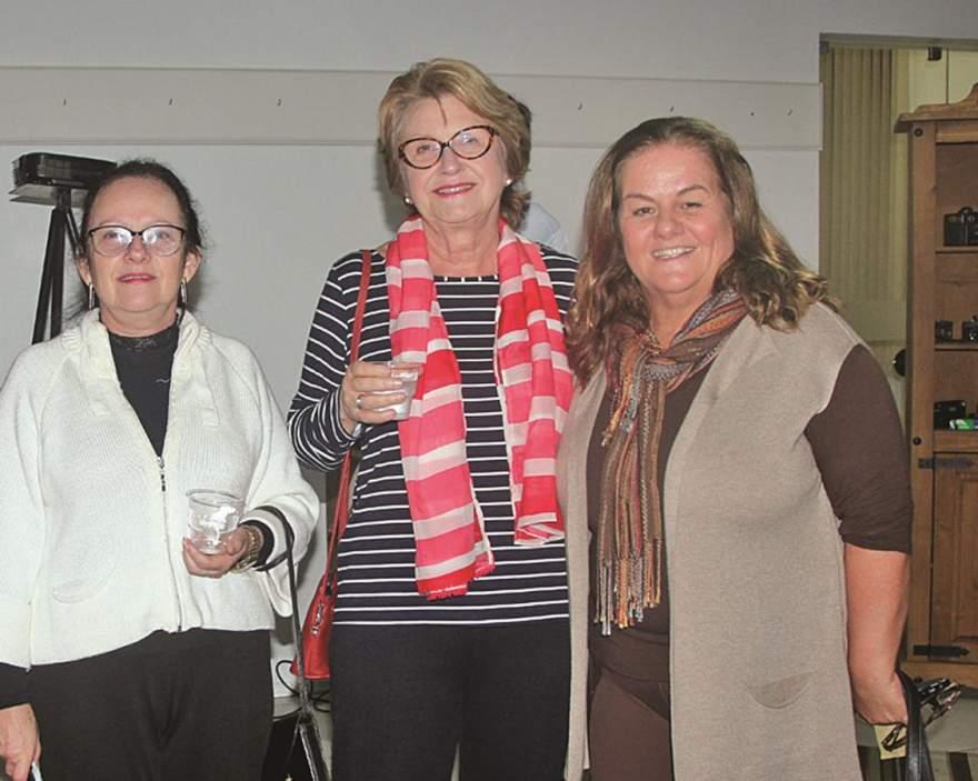 Sonia Pereira, Vera Hintz Beurmann e Marta Emmel