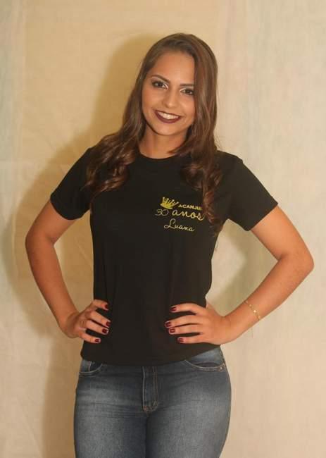 A candidata Luana