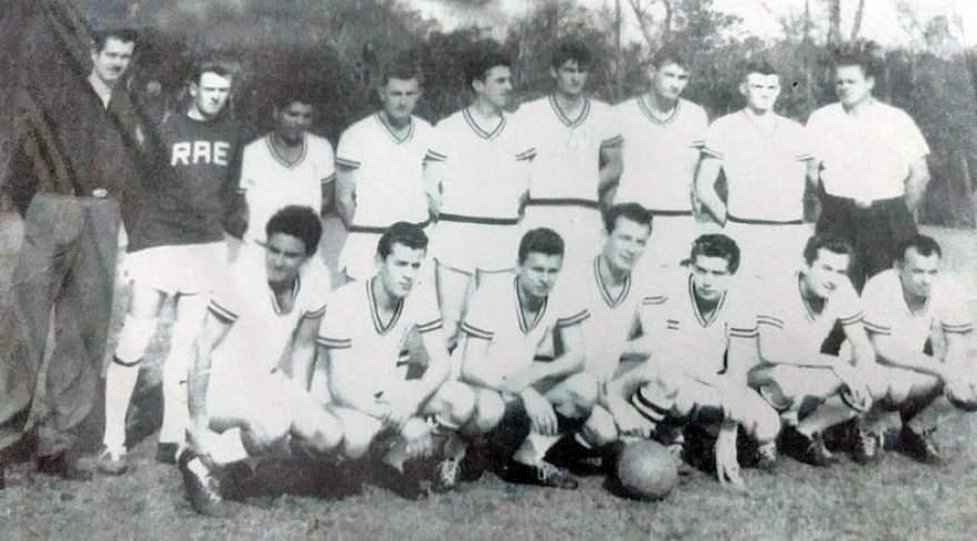 Primeiro time do Real foi formado no ano de 1962