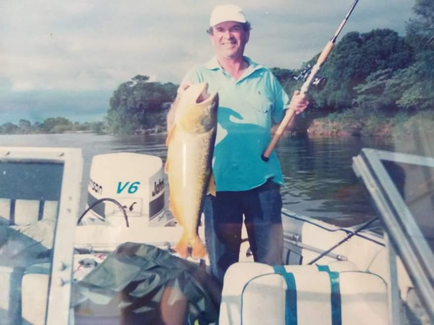 A pescaria era uma das paixões do empresário