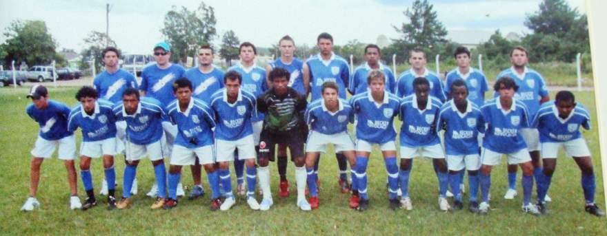 Categoria Juvenil do Atlético - Campeão Regional em 2009 - Arquivo Douglas Braga