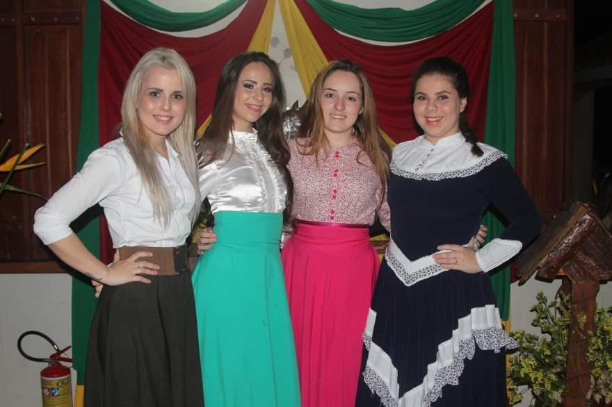 Juliana Fischer, Lilian Paz Porto, Flávia Siqueira Puntel e Anabel Richter