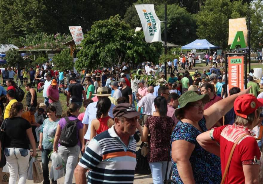 Portões da feira abrirá nos três dias das 08 às 18h