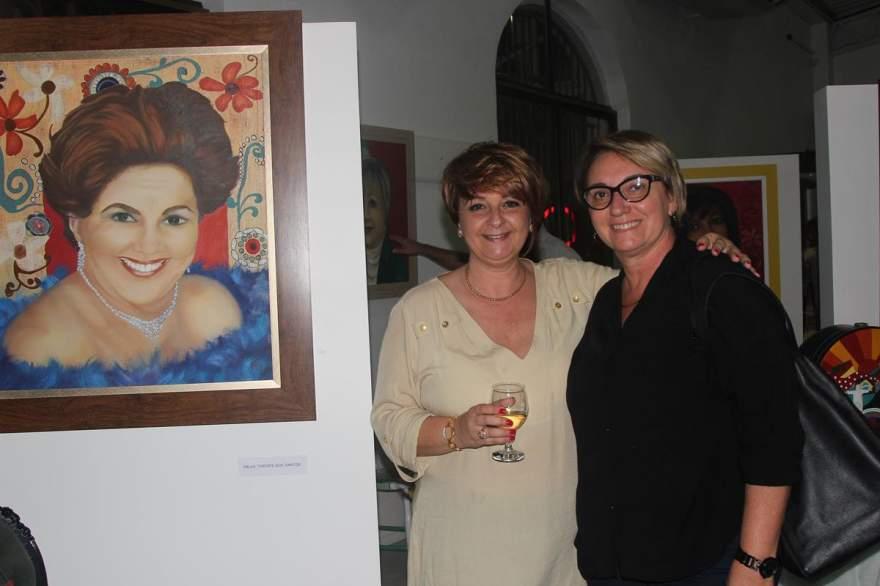 Lorena Gazzale e Ligia Silveira Lersch